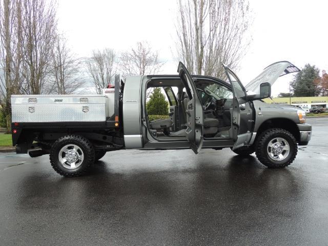 2006 Dodge Ram 2500 SLT 4dr Mega Cab / 4X4 / 5.9L DIESEL / FLAT BED - Photo 13 - Portland, OR 97217