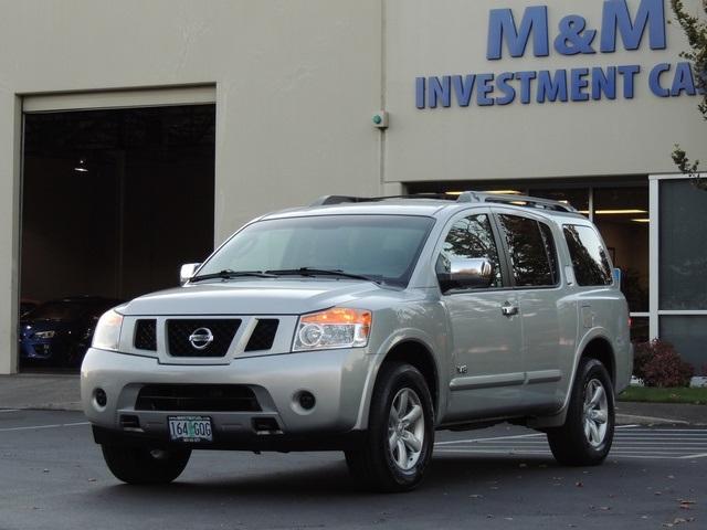 2008 Nissan Armada Se 4x4 3rd Row Seat Excel Cond Photo 1