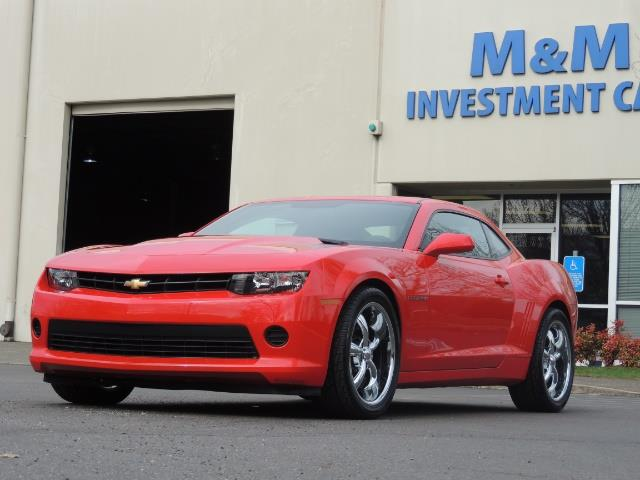 2014 Chevrolet Camaro LS / Coupe / 3.6 Liter 6Cyl / ONLY 9000 MILES - Photo 40 - Portland, OR 97217