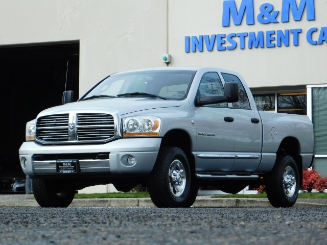 2006 Dodge Ram 2500 Laramie / 4X4 / 5.9L Cummins / 1-OWNER / LEATHER - Photo 44 - Portland, OR 97217