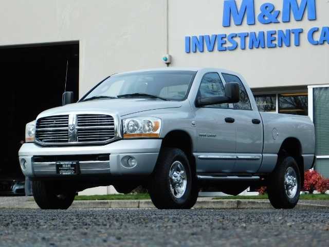 2006 Dodge Ram 2500 Laramie / 4X4 / 5.9L Cummins / 1-OWNER / LEATHER - Photo 1 - Portland, OR 97217
