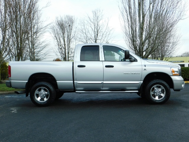 2006 Dodge Ram 2500 Laramie / 4X4 / 5.9L Cummins / 1-OWNER / LEATHER - Photo 4 - Portland, OR 97217