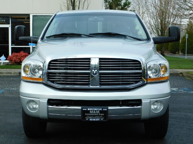 2006 Dodge Ram 2500 Laramie / 4X4 / 5.9L Cummins / 1-OWNER / LEATHER - Photo 5 - Portland, OR 97217