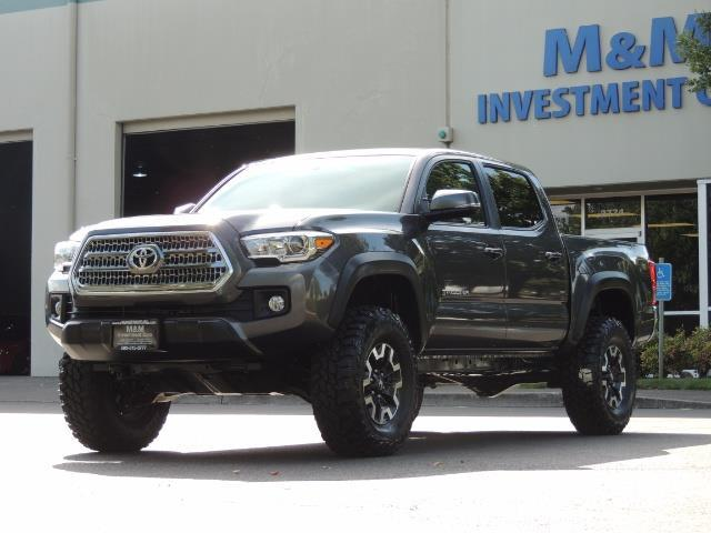 2016 Toyota Tacoma Lifted >> 2016 Toyota Tacoma Trd Off Road 4x4 Manual Diff Lock Lifted