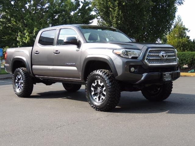 2016 Toyota Tacoma Trd Off Road 4x4 Manual Diff Lock Lifted