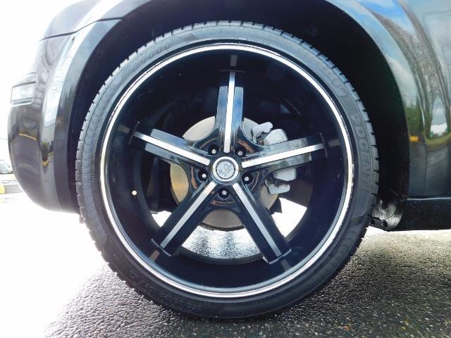 "2007 Chrysler 300 Series Sedan / V6 2.7 L / 2-tone BLACK-SILVER / 22 "" RIMS - Photo 23 - Portland, OR 97217"
