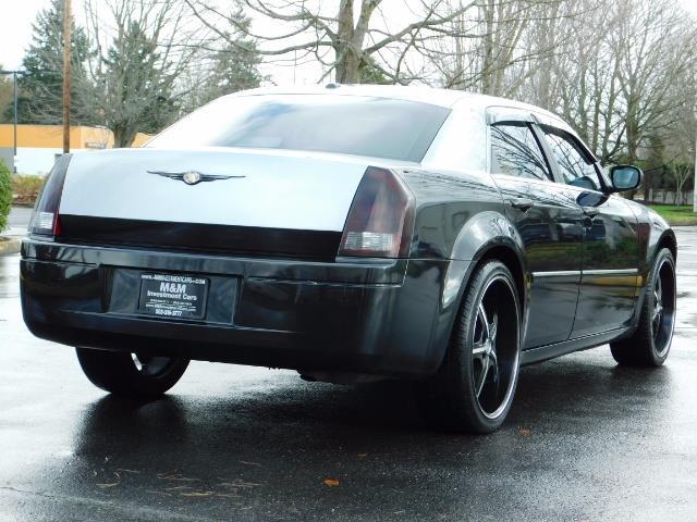 "2007 Chrysler 300 Series Sedan / V6 2.7 L / 2-tone BLACK-SILVER / 22 "" RIMS - Photo 8 - Portland, OR 97217"
