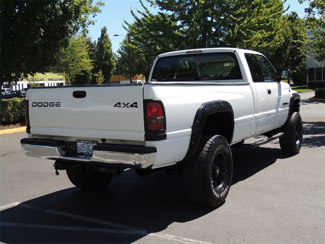 2002 Dodge Ram 2500 SLT 5.9L Gas Manual Trans. long bed LIFTED