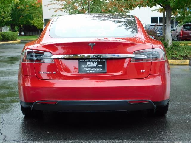 2013 Tesla Model S 85K / Leather / Tech  Pkg / Active air suspension - Photo 6 - Portland, OR 97217