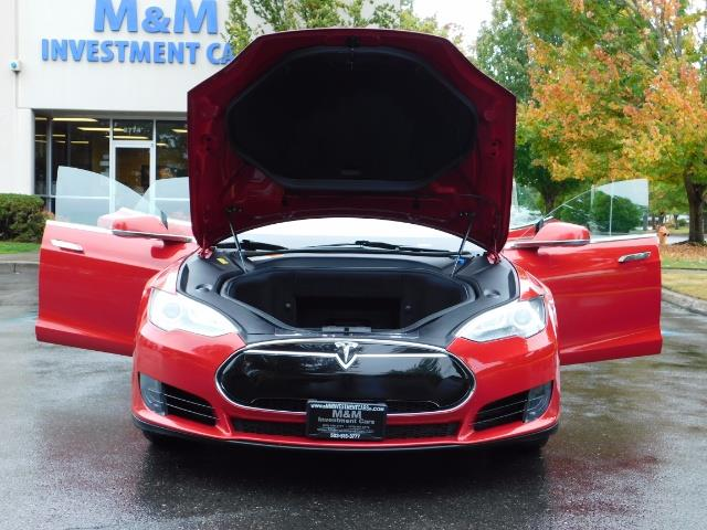 2013 Tesla Model S 85K / Leather / Tech  Pkg / Active air suspension - Photo 31 - Portland, OR 97217