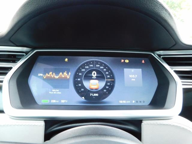 2013 Tesla Model S 85K / Leather / Tech  Pkg / Active air suspension - Photo 37 - Portland, OR 97217