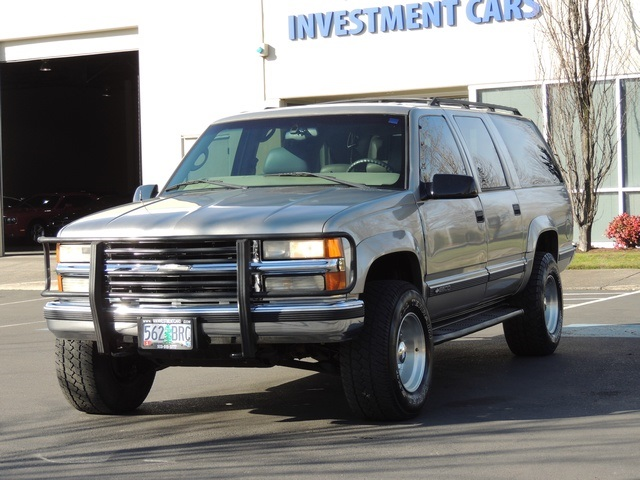 1999 Chevrolet Suburban K2500 Lt 4x4 3rd Seat Leather Excel Cond