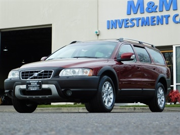 2007 Volvo XC70 AWD WAGON / HEATED LEATHER / MOON ROOF / TURBO