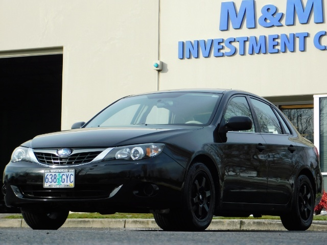 2008 Subaru Impreza 2.5i / Sedan 4-Door / AWD / 5-SPEED MANUAL - Photo 45 - Portland, OR 97217