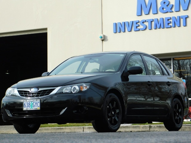 2008 Subaru Impreza 2.5i / Sedan 4-Door / AWD / 5-SPEED MANUAL - Photo 43 - Portland, OR 97217
