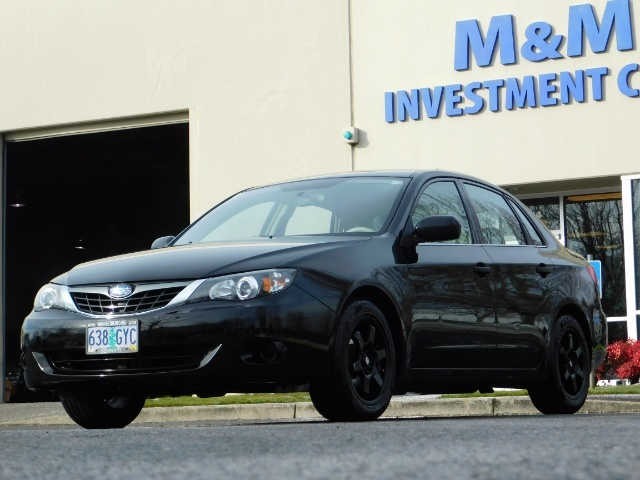 2008 Subaru Impreza 2.5i / Sedan 4-Door / AWD / 5-SPEED MANUAL - Photo 41 - Portland, OR 97217