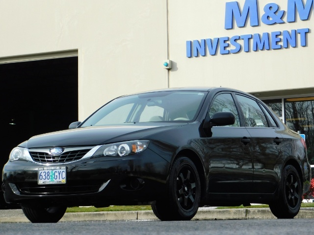2008 Subaru Impreza 2.5i / Sedan 4-Door / AWD / 5-SPEED MANUAL - Photo 42 - Portland, OR 97217