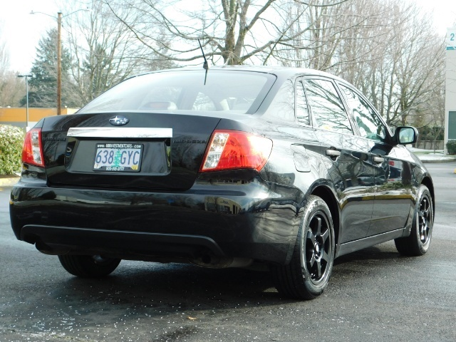 2008 Subaru Impreza 2.5i / Sedan 4-Door / AWD / 5-SPEED MANUAL - Photo 8 - Portland, OR 97217