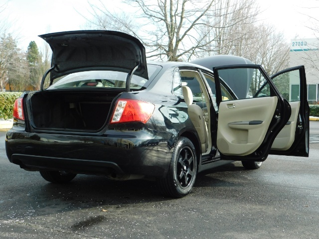 2008 Subaru Impreza 2.5i / Sedan 4-Door / AWD / 5-SPEED MANUAL - Photo 30 - Portland, OR 97217