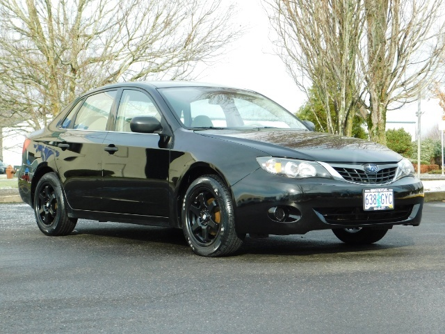 2008 Subaru Impreza 2.5i / Sedan 4-Door / AWD / 5-SPEED MANUAL - Photo 2 - Portland, OR 97217