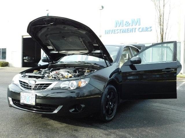2008 Subaru Impreza 2.5i / Sedan 4-Door / AWD / 5-SPEED MANUAL - Photo 25 - Portland, OR 97217