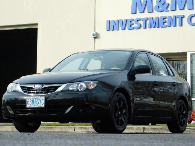 2008 Subaru Impreza 2.5i / Sedan 4-Door / AWD / 5-SPEED MANUAL - Photo 44 - Portland, OR 97217