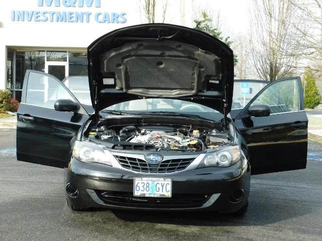 2008 Subaru Impreza 2.5i / Sedan 4-Door / AWD / 5-SPEED MANUAL - Photo 31 - Portland, OR 97217
