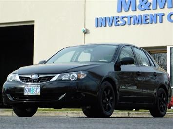 2008 Subaru Impreza 2.5i / Sedan 4-Door / AWD / 5-SPEED MANUAL Sedan