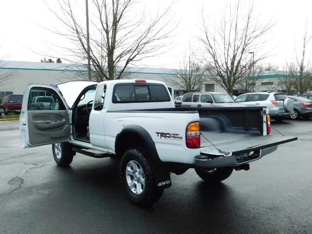 2004 Toyota Tacoma SR5 XtraCab 4x4 / V6 3.4L / TRD OFF-ROAD / LIFTED - Photo 29 - Portland, OR 97217