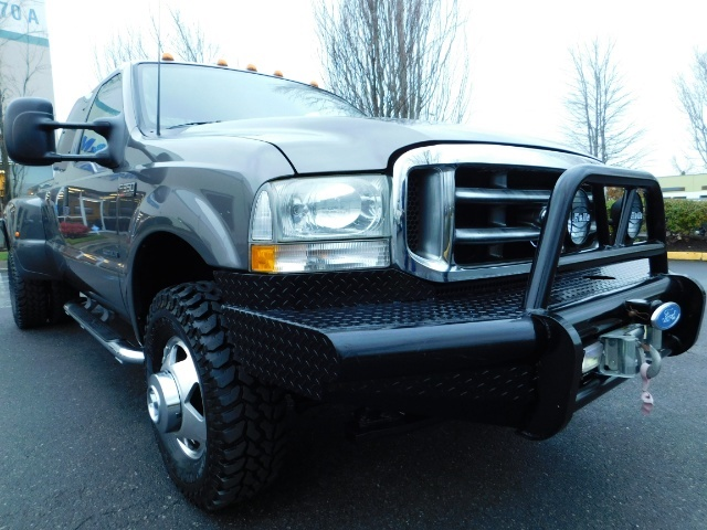 2003 Ford F-350 Lariat 4X4 / 7.3L DIESEL / 6-SPEED MANUAL / DUALLY - Photo 10 - Portland, OR 97217