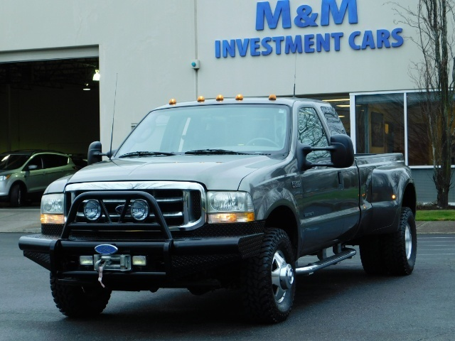 2003 Ford F-350 Lariat 4X4 / 7.3L DIESEL / 6-SPEED MANUAL / DUALLY - Photo 1 - Portland, OR 97217