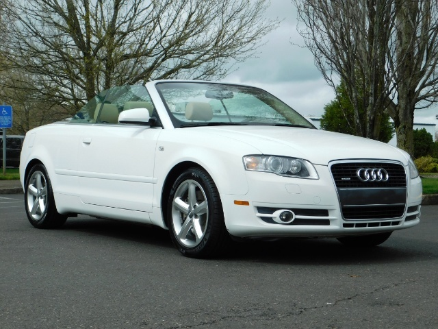 2008 Audi A4 3.2 quattro Cabriolet All Wheel Drive / 31k miles - Photo 2 - Portland, OR 97217