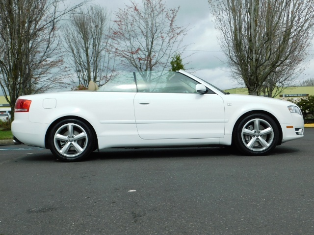 2008 Audi A4 3.2 quattro Cabriolet All Wheel Drive / 31k miles - Photo 4 - Portland, OR 97217