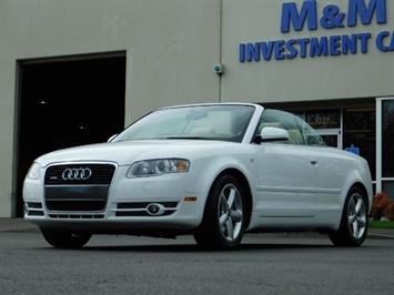 2008 Audi A4 3.2 quattro Cabriolet All Wheel Drive / 31k miles
