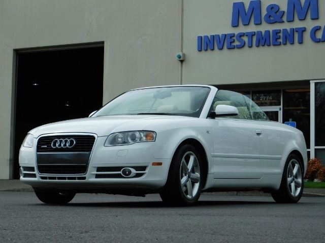 2008 Audi A4 3.2 quattro Cabriolet All Wheel Drive / 31k miles - Photo 1 - Portland, OR 97217