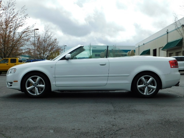 2008 Audi A4 3.2 quattro Cabriolet All Wheel Drive / 31k miles - Photo 3 - Portland, OR 97217