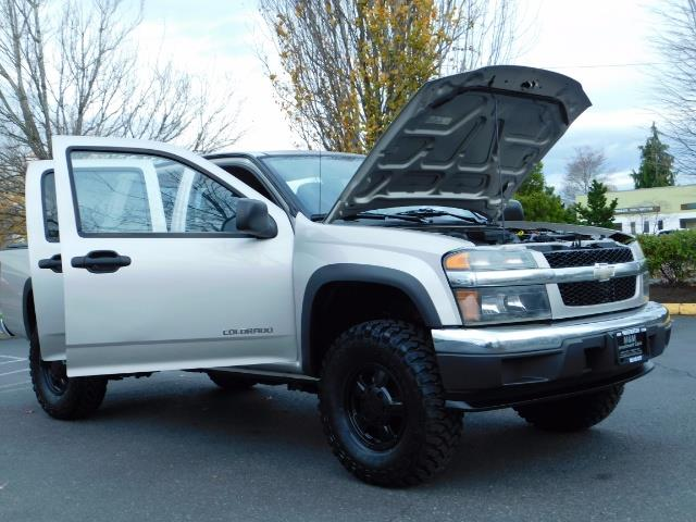 2005 Chevrolet Colorado LS 5CYl DOUBLE CAB 4WD LIFTED LIFTED - Photo 29 - Portland, OR 97217