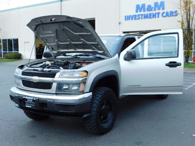2005 Chevrolet Colorado LS 5CYl DOUBLE CAB 4WD LIFTED LIFTED - Photo 28 - Portland, OR 97217
