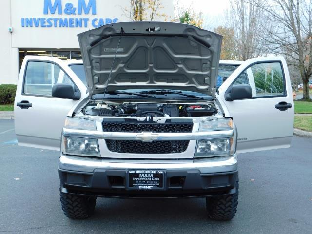 2005 Chevrolet Colorado LS 5CYl DOUBLE CAB 4WD LIFTED LIFTED - Photo 30 - Portland, OR 97217