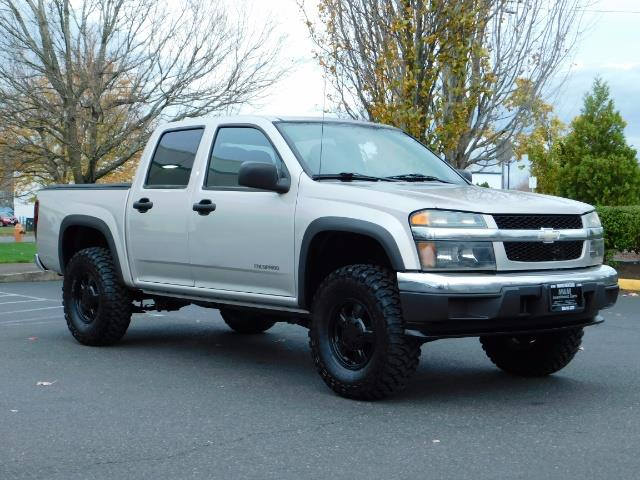 2005 Chevrolet Colorado LS 5CYl DOUBLE CAB 4WD LIFTED LIFTED - Photo 2 - Portland, OR 97217