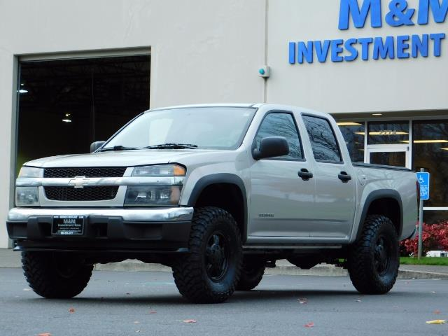 2005 Chevrolet Colorado LS 5CYl DOUBLE CAB 4WD LIFTED LIFTED - Photo 1 - Portland, OR 97217