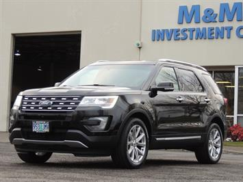 2016 Ford Explorer Limited / AWD / NAVIGATION / Excel Cond SUV