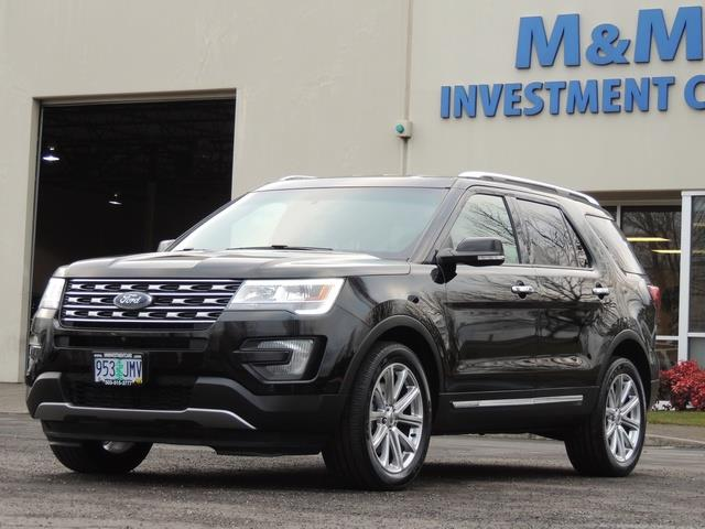 2016 Ford Explorer Limited Awd Navigation Excel Cond Photo 1 Portland