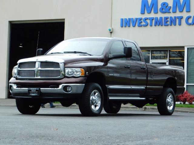 2005 Dodge Ram 2500 Laramie/ 4x4 / Cummins 5.9L / 1-Owner Only 116k Mi - Photo 29 - Portland, OR 97217