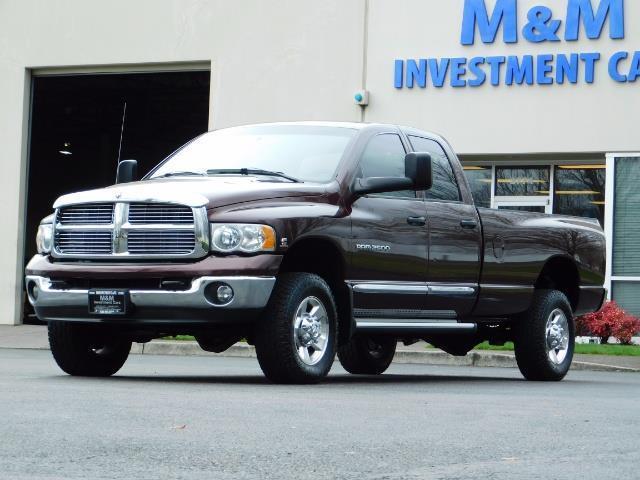 2005 Dodge Ram 2500 Laramie/ 4x4 / Cummins 5.9L / 1-Owner Only 116k Mi - Photo 28 - Portland, OR 97217