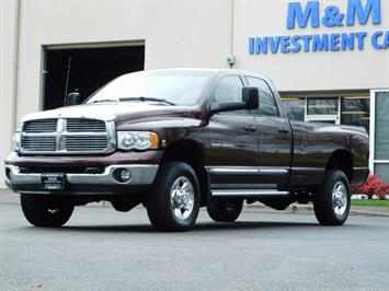 2005 Dodge Ram 2500 Laramie/ 4x4 / Cummins 5.9L / 1-Owner Only 116k Mi Truck
