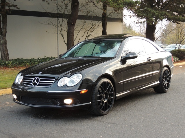 2003 mercedes benz clk500 sport coupe 1 owner loaded niche wheels. Black Bedroom Furniture Sets. Home Design Ideas