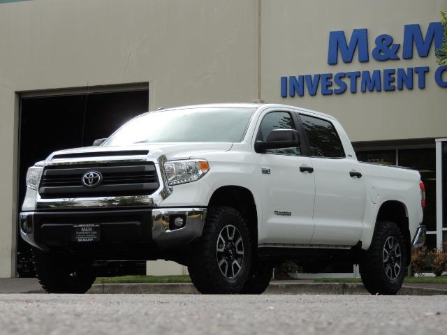 2014 Toyota Tundra SR5 / CrewMax / 4X4 / 5.7L / LEATHER / 1-Owner - Photo 51 - Portland, OR 97217