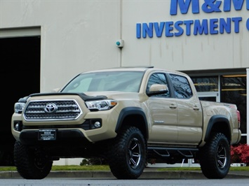 2017 Toyota Tacoma TRD Off-Road Sport / ONLY 42 MILES / 6-SPEED
