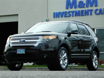 2013 Ford Explorer XLT / AWD / 3rd Seat / Leather/ Sunroof / Htd Seat